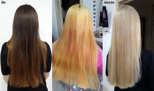 Как обесцветить волосы перекисью водорода