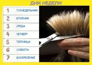 Когда лучше подстригаться