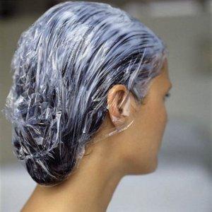 Голубая глина для волос