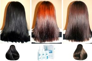 Особенности выведения черного цвета волос