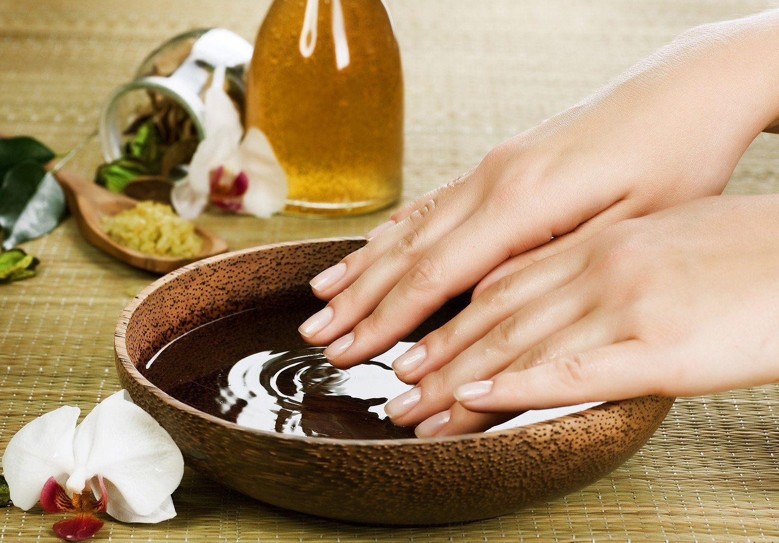 Маска для ногтей, рецепты и как делать ванны для ногтей