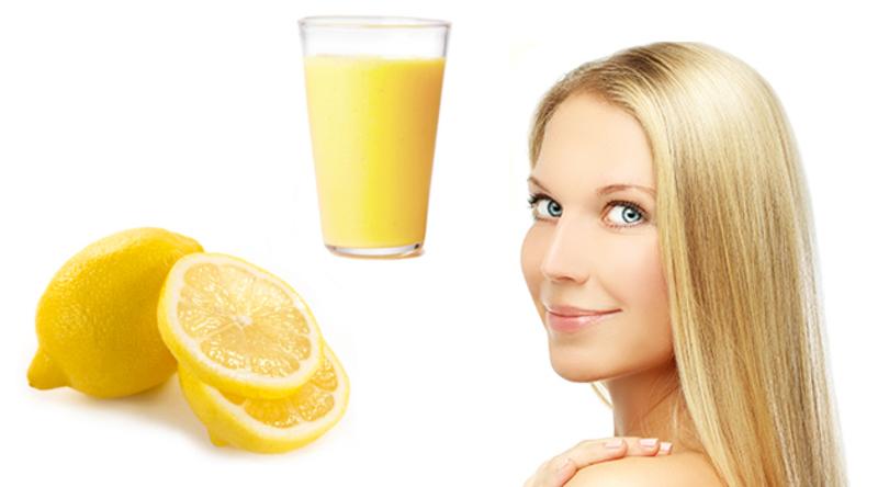 Маски из сока лимона для волос