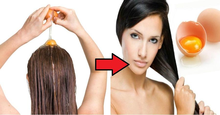 Укрепление волос с помощью яйца